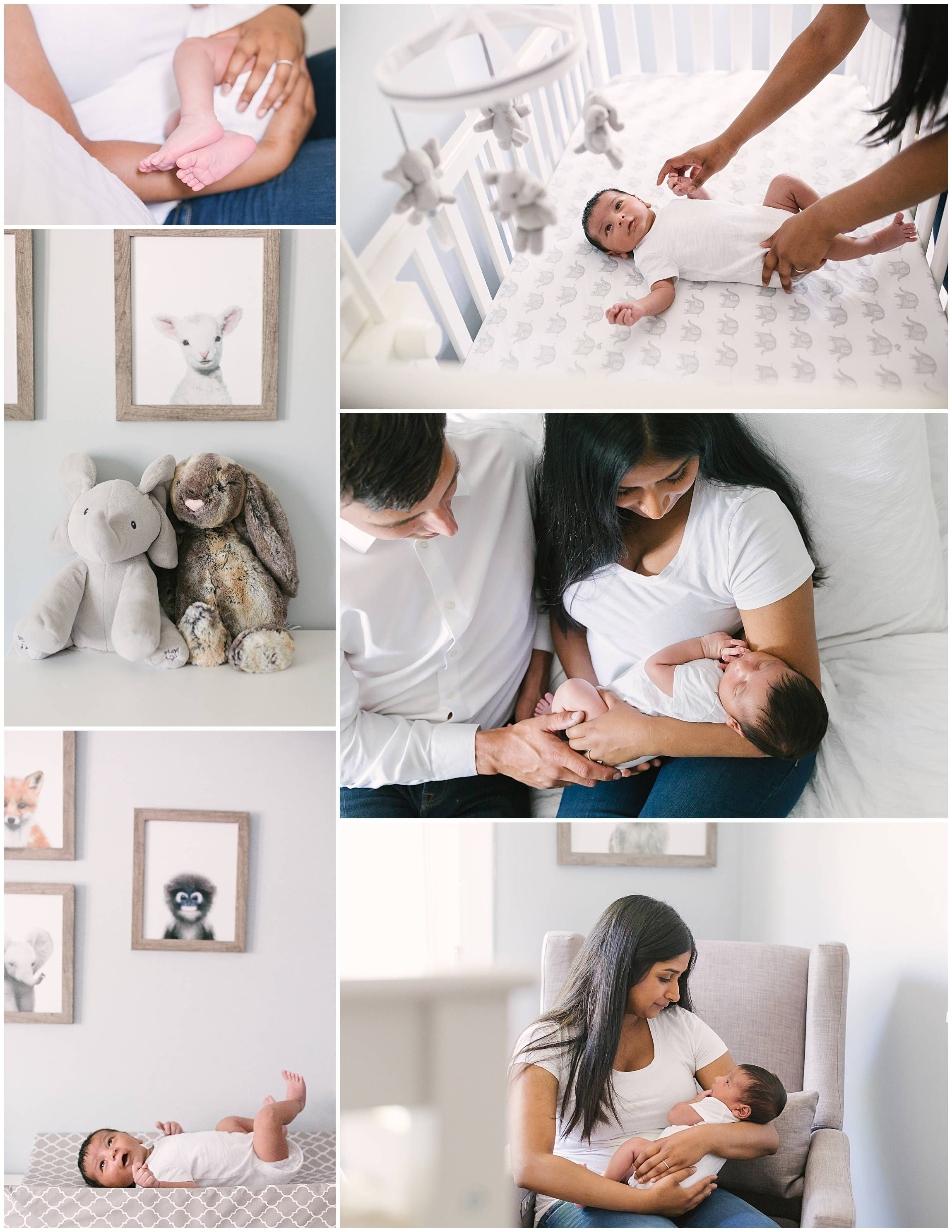 Newborn lifestyle photography in home baby photography session bright and airy natural clean documentary toronto photographer kira noel