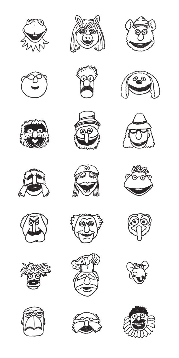 The Muppets | Jim Henson: genius | Pinterest | Rock, Silhouettes and ...