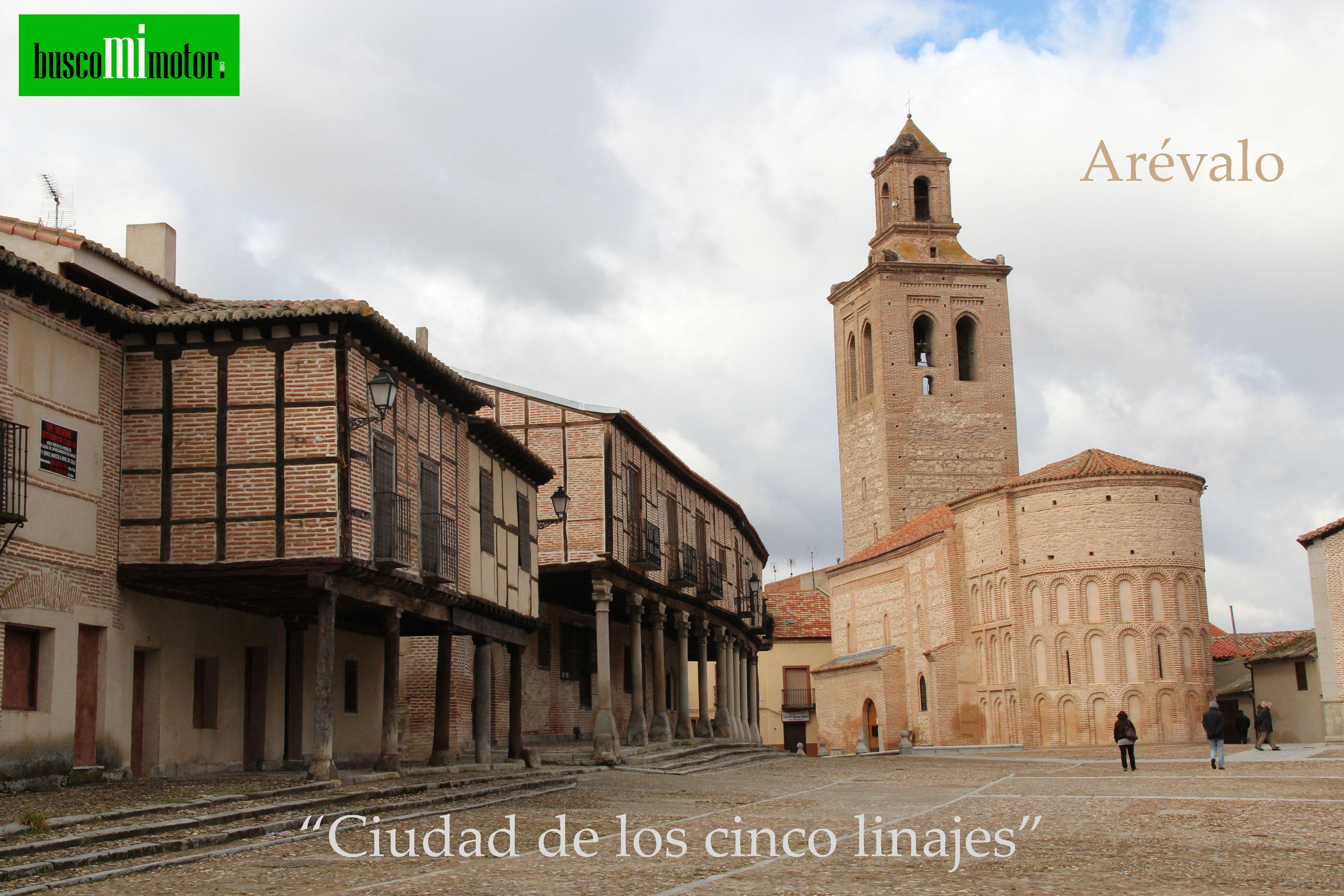 Motores_buscomimotor Cómo comprar o vender un motor:  Arévalo es una ciudad y un municipio de España, perteneciente a la provincia  de Ávila,6 en la comunidad autónoma de Castilla y León.