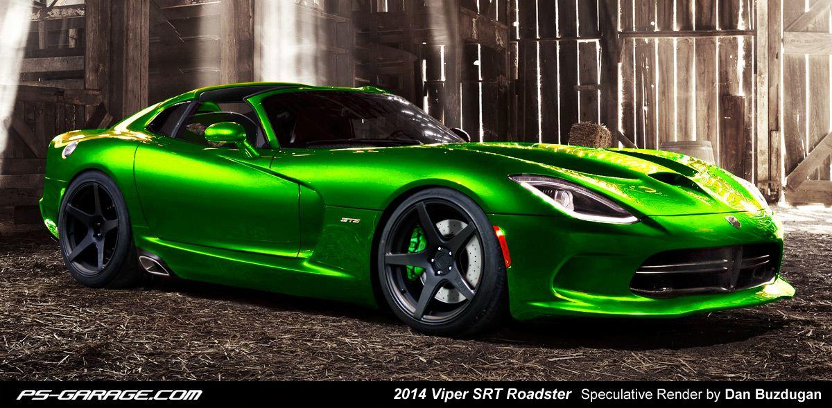 Viper In Lime Green Sure Vroom Viper Gts Dodge