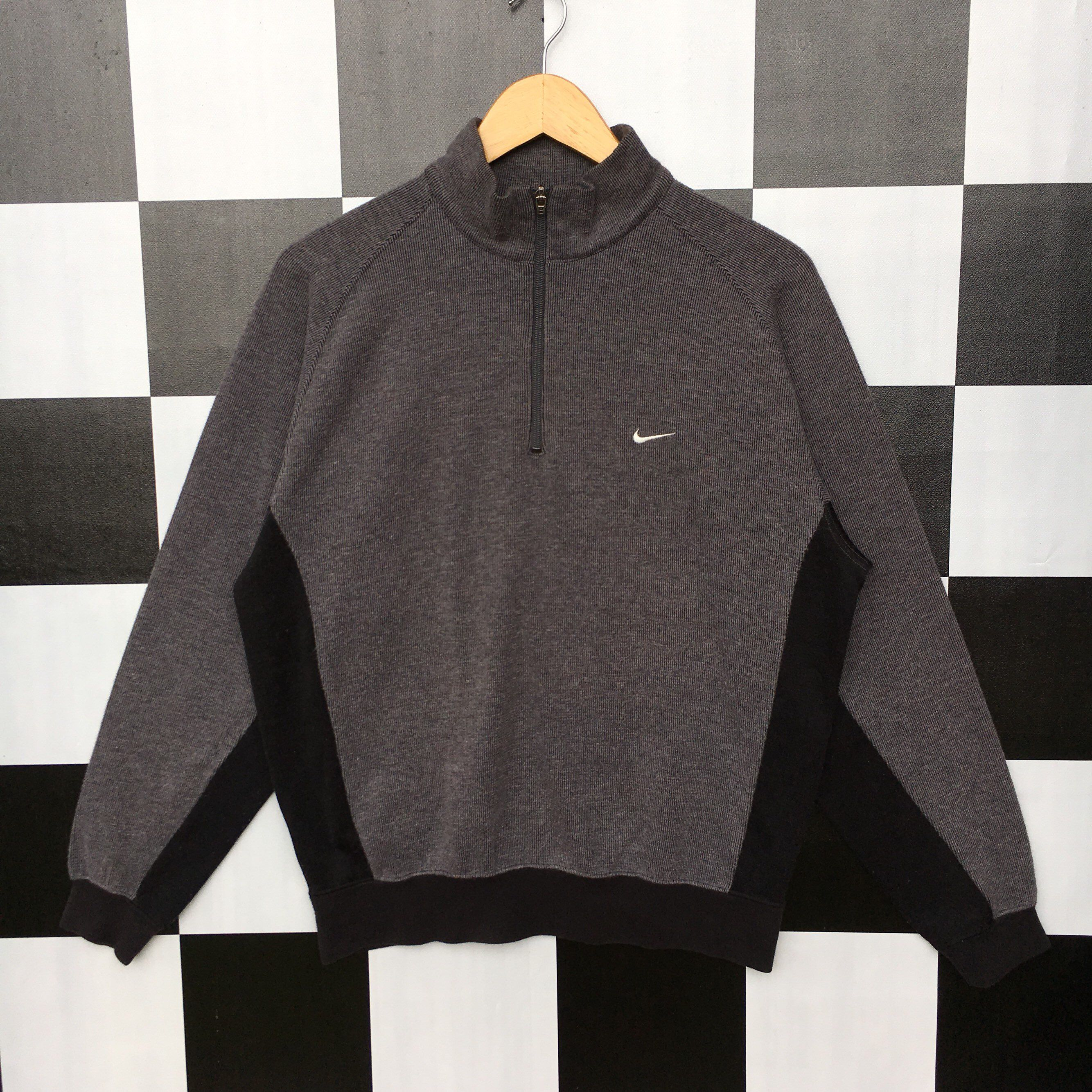 Excited To Share The Latest Addition To My Etsy Shop Vintage Nike Golf Half Zip Small Logo Sweatshirt Jumper P Nike Sweatshirts Vintage Nike Trending Outfits