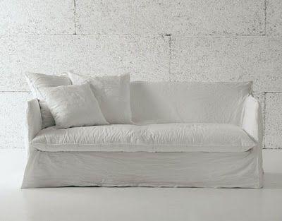 Beautiful White On White Simplicity White Sofas Modern Patio