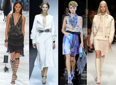 Milan Fashion Week; Spring 2014 | Fashion Trends 2015, fashion shows, weeks and LookBooks from FLooks.net