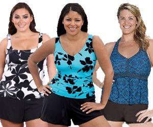 plus size swim shorts   fashion   pinterest   plus size swim, swim