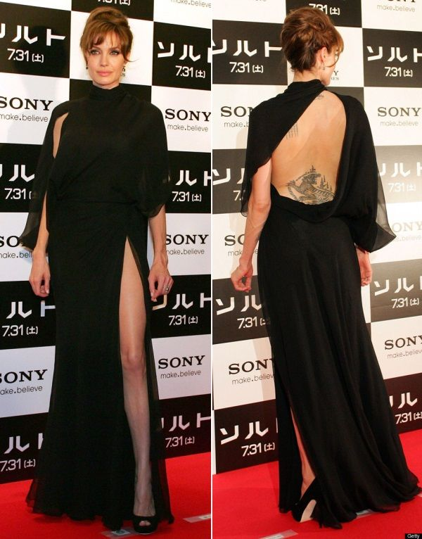 Angeli jolie the dress images