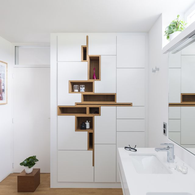 Geometrie Wohnwand - TV-Wand Pinterest Geometrie, Möbel und - wohnideen tv wand