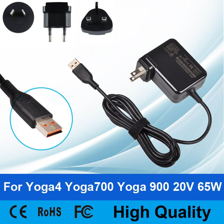 65W 20V 3 25A AC Laptop Power Supply Adatper Cable Wall