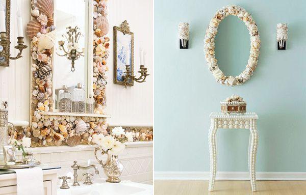Seashell Bathroom Decor Ideas Inspiring With Image Of Creative Fresh At Gallery