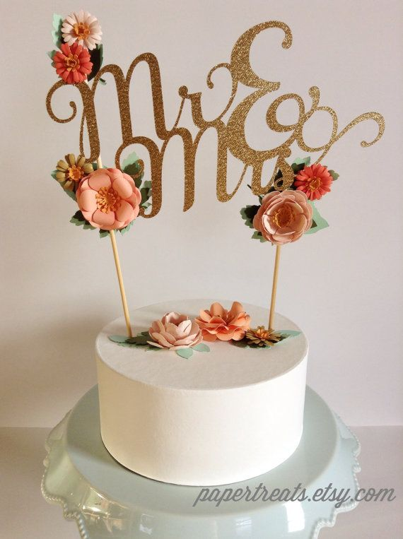 Swell Home Living Birthday Cake Monogram Topper With Handmade Paper Funny Birthday Cards Online Necthendildamsfinfo