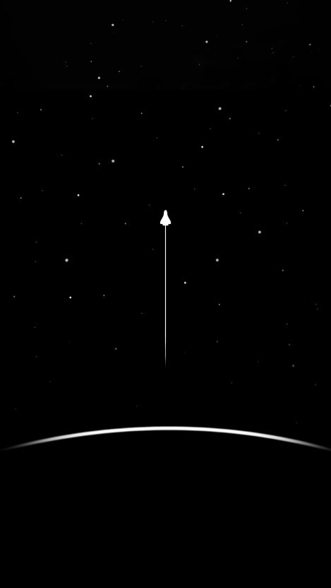 Minimal Space Launch Iphone Wallpaper In 2019 Wallpaper