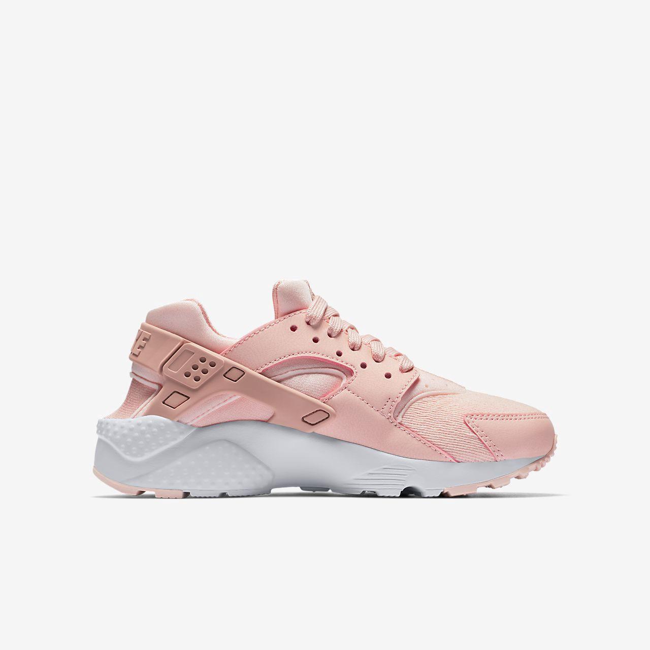 free shipping 1d614 10410 Nike Huarache Se Big Kids' Shoe - 3.5Y Pink | Products ...