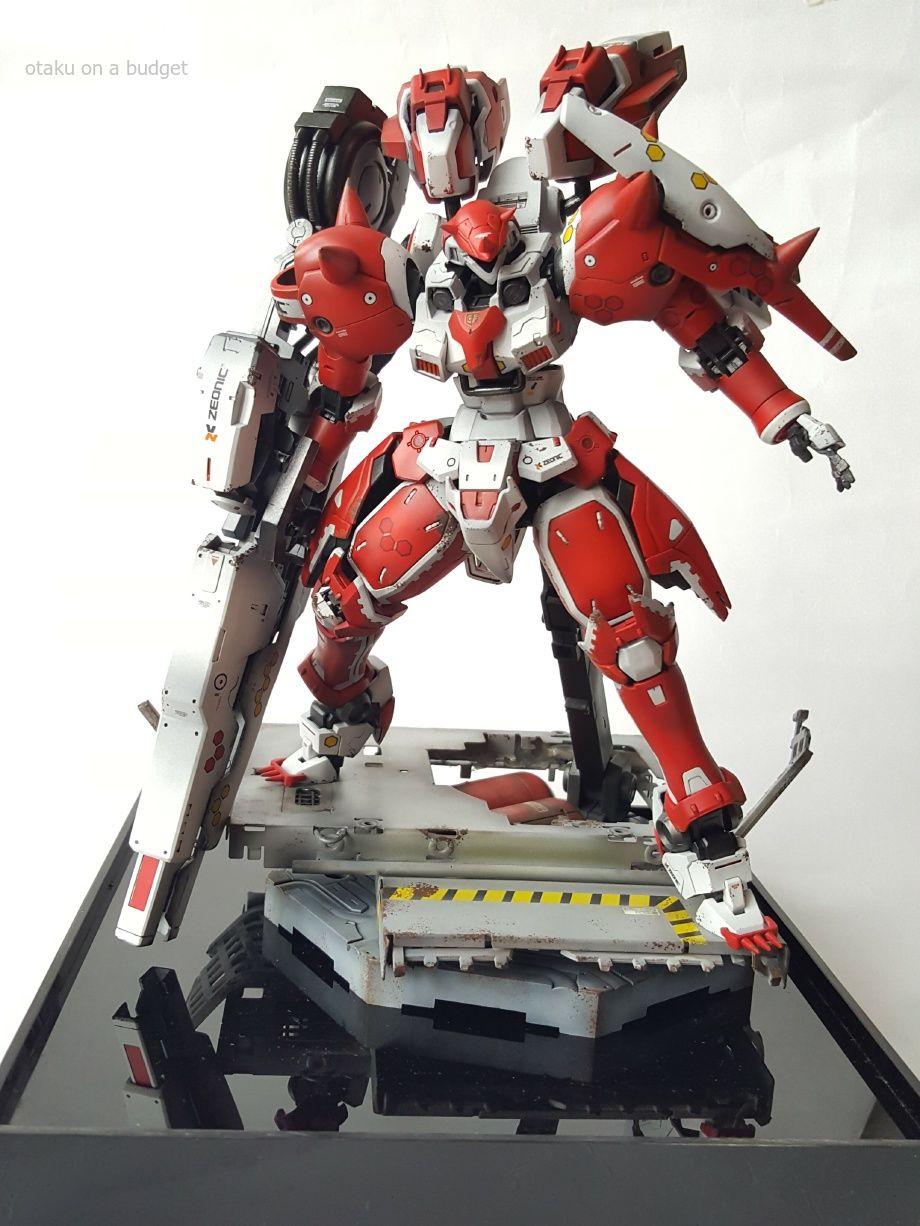 MG 1/100 Tallgeese Boros - Custom Build Modeled by Otaku on a Budget ...
