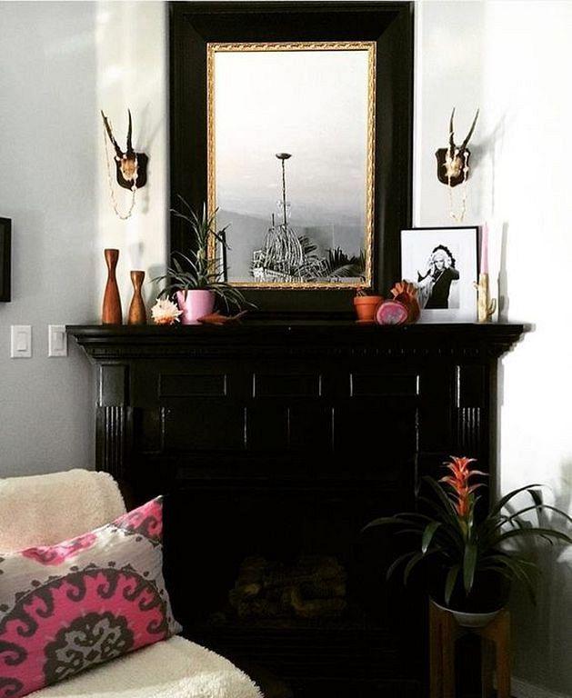 30 Modern Home Decor Ideas: 30 Elegant And Modern Black Fireplace Design Ideas