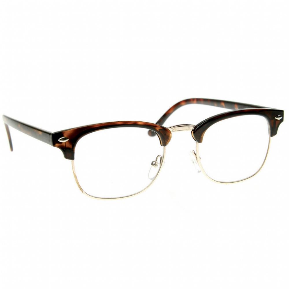 Finditquick Hipster Glasses Retro Glasses Fashion Eye Glasses