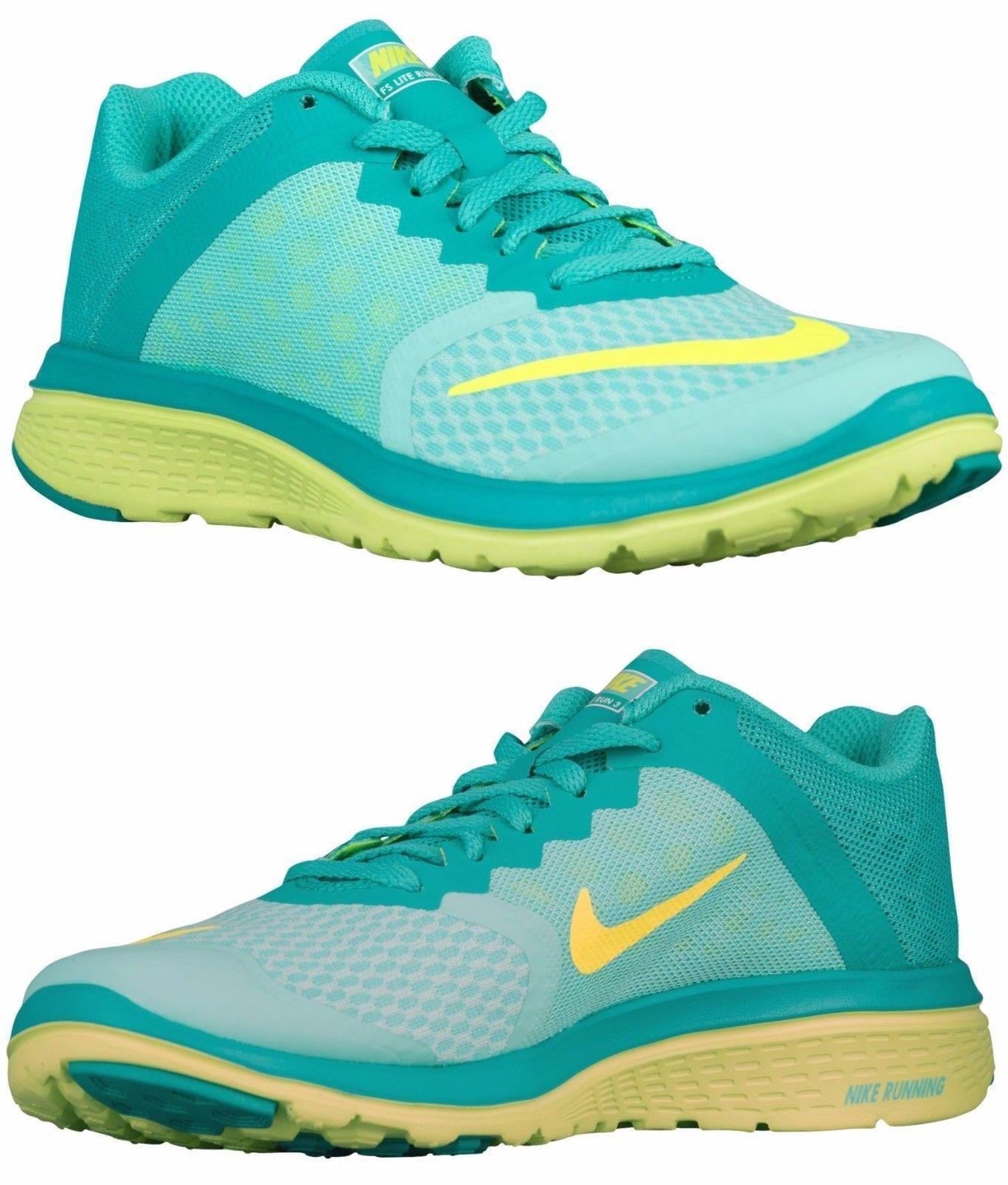 1242eda72a4c Nike Fs Lite Run 3 Women S Mesh M Running Hyper Turquoise - Volt - White -  Jade