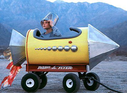 Rocket wagon!