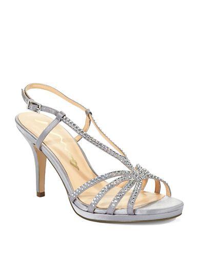 Brands | Party U0026 Evening | Bobbie Rhinestone Sandal Heels | Lord And Taylor