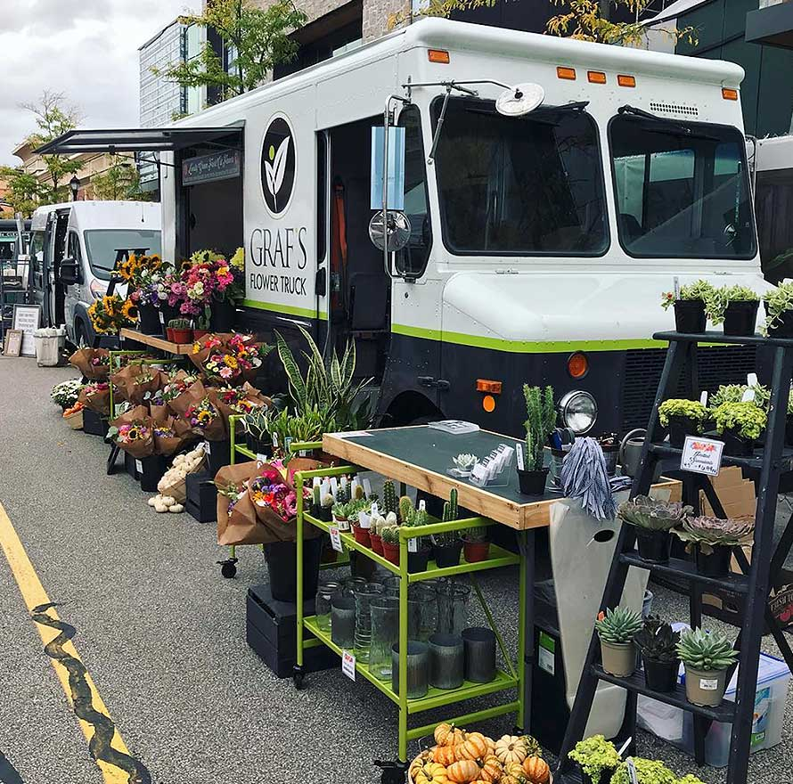 3 Flower Trucks, 3 Different Fresh Flower Experiences