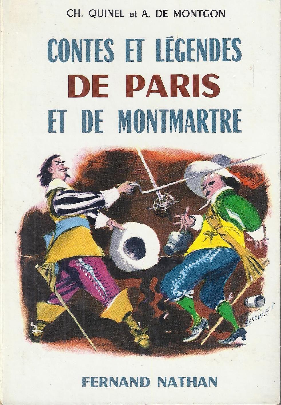 References Contes Et Legendes De Paris Et De Montmartre 1962 Grandes Images Contes Et Legendes Conte Legende
