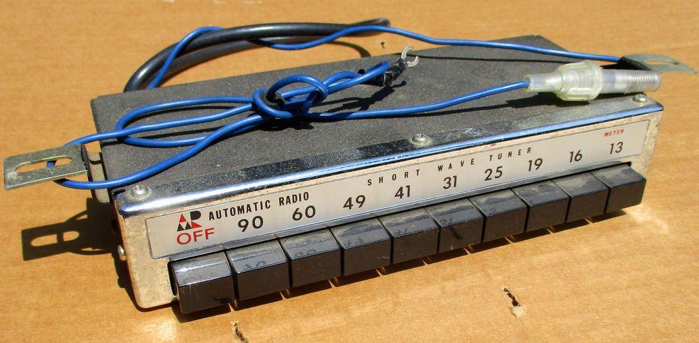Details about Vintage Hallicrafters Ham Shortwave Radio S