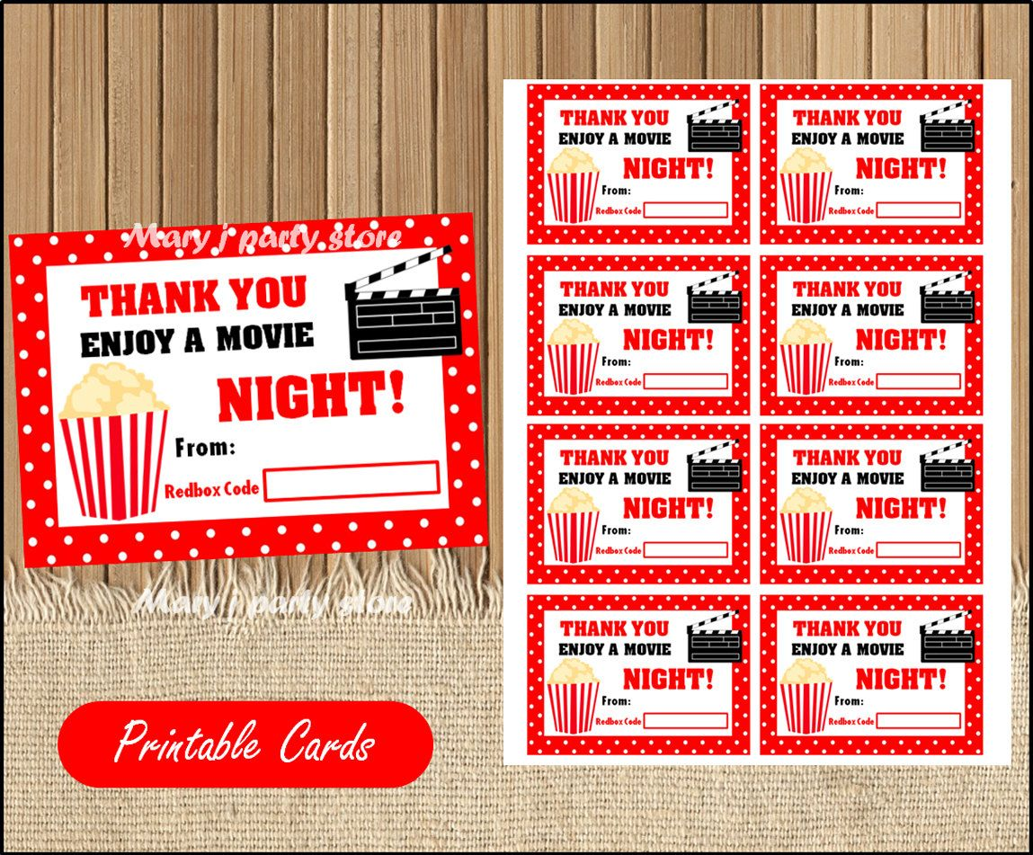 graphic about Printable Redbox Gift Cards identified as Printable Redbox Reward Card Instructor Appreciation Present card