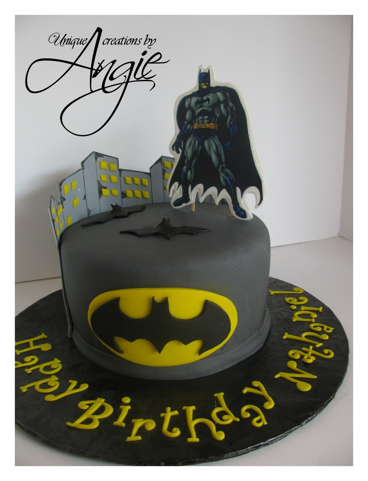 Walmart Bakery Birthday Cakes Photos Batman Boy Band