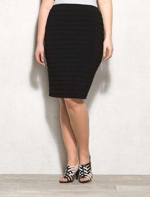 02bf70cf7 Modelos de faldas de vestir para gorditas ¡IMPERDIBLES! | FALDAS ...