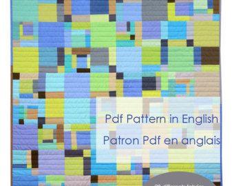 Blue Ducks Pdf pattern in English