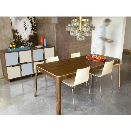 """Possible dining room table. brand: BluDot """"Nick Dining Table"""" $1299"""