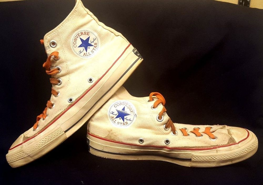 e4f160d5bd61 VTG 1960s Converse All Star Chuck Taylor High Top Tennis Shoes Women 8.5  Men 6.5  Converse  ChuckTaylor