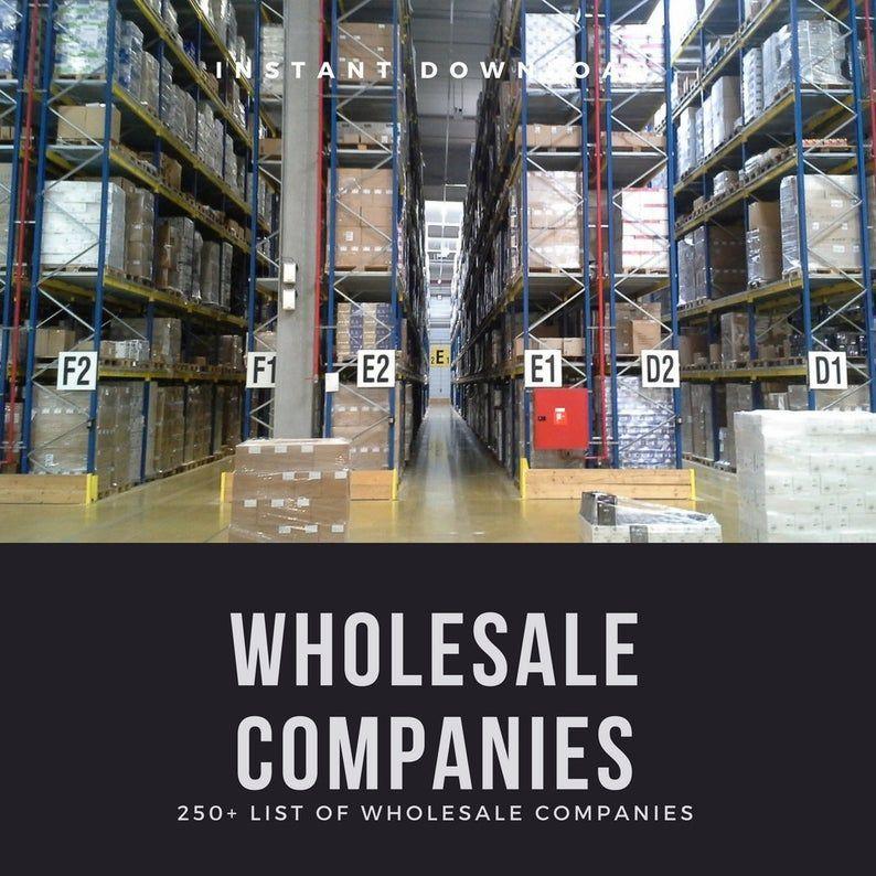 Business Ideas Discover Vendor List 250 Us Canada Wholesalers Business Startup Distributor List Whol Wholesale Home Decor Wholesale Companies Wholesale