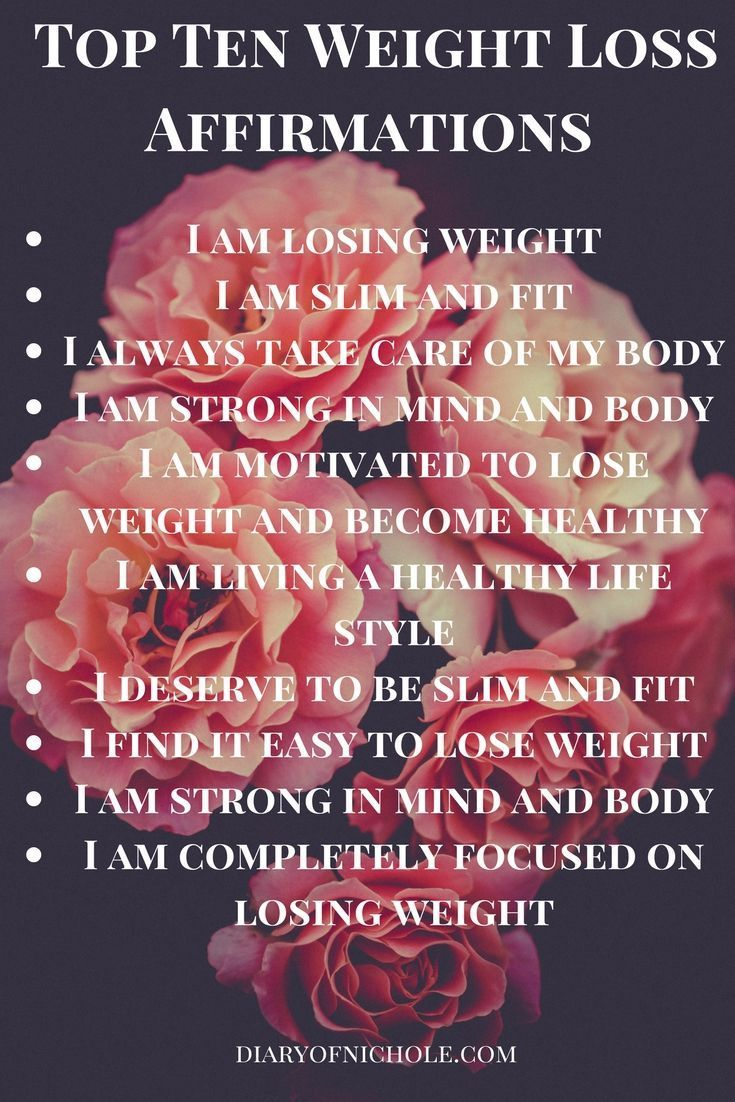 The Law of Attraction for Weight Loss