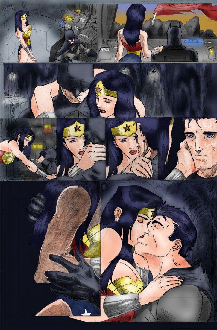 Wonder Woman x Superwho? More like Wonder Woman x Batman ...