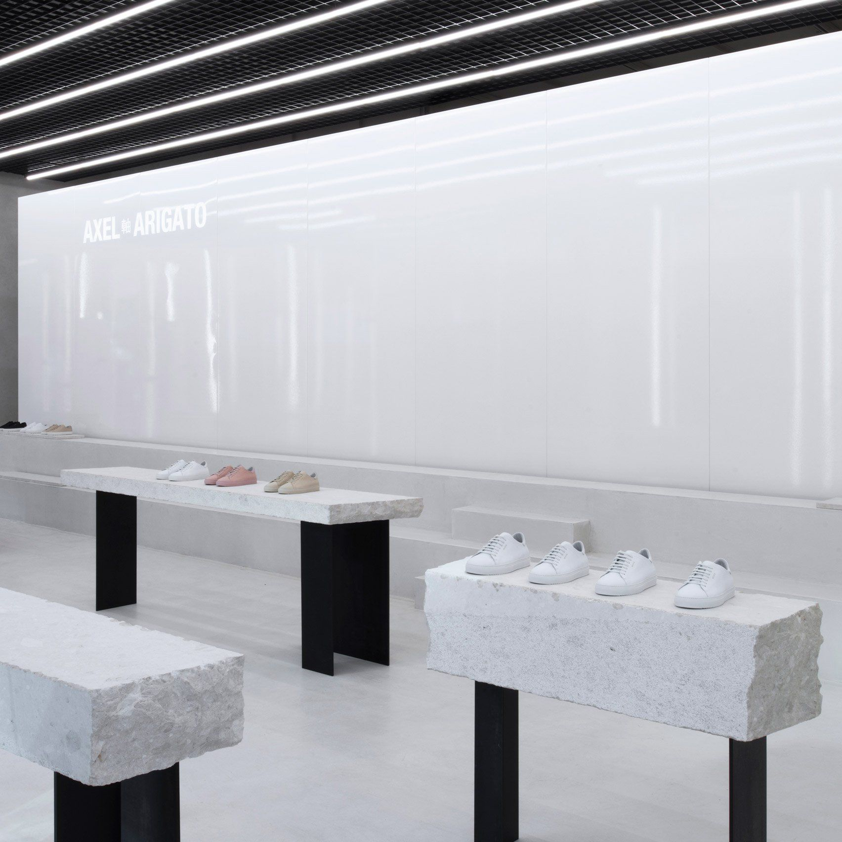 Christian Halleröd designs minimal interior for Axel ...