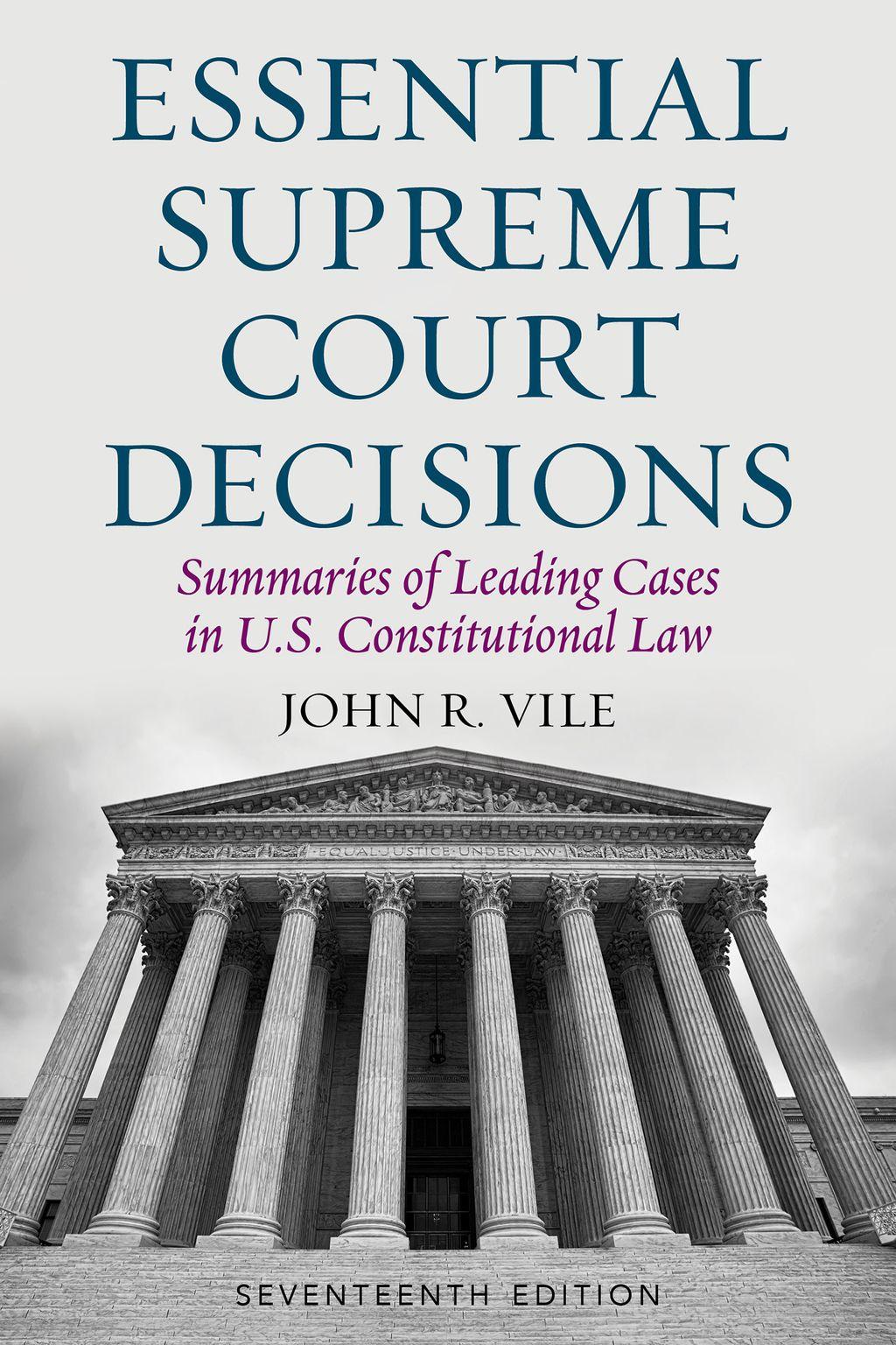 Essential Supreme Court Decisions Ebook