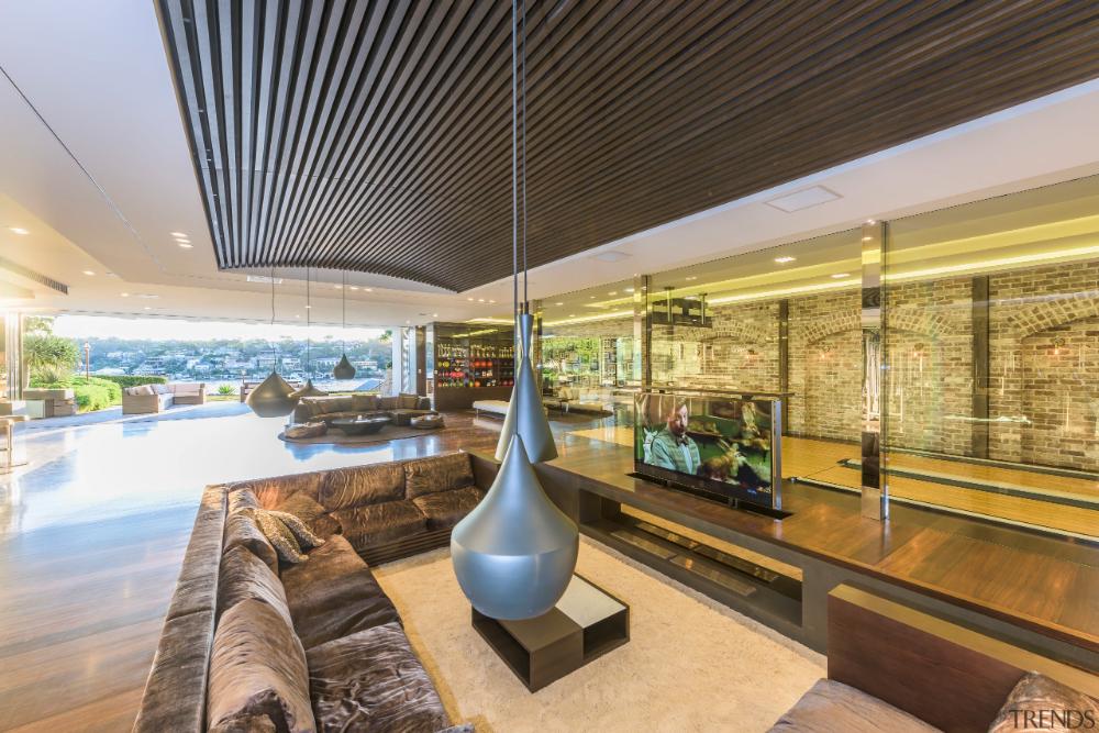 sunken sofa lobby Google 搜尋 House and home magazine