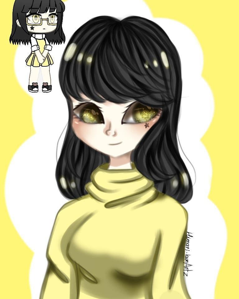 💕💕💕 . . . . . . . . . . #drawing #gachalife #gachaoutfits #gacha #art #artwork #yellow #artoftheday #artsquad #lunimegachalife