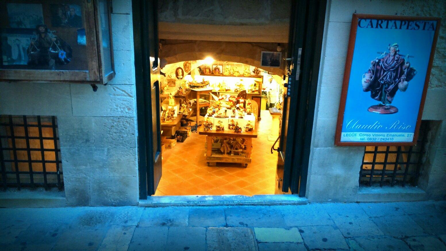 Papier mache workshop. Lecce,Italy
