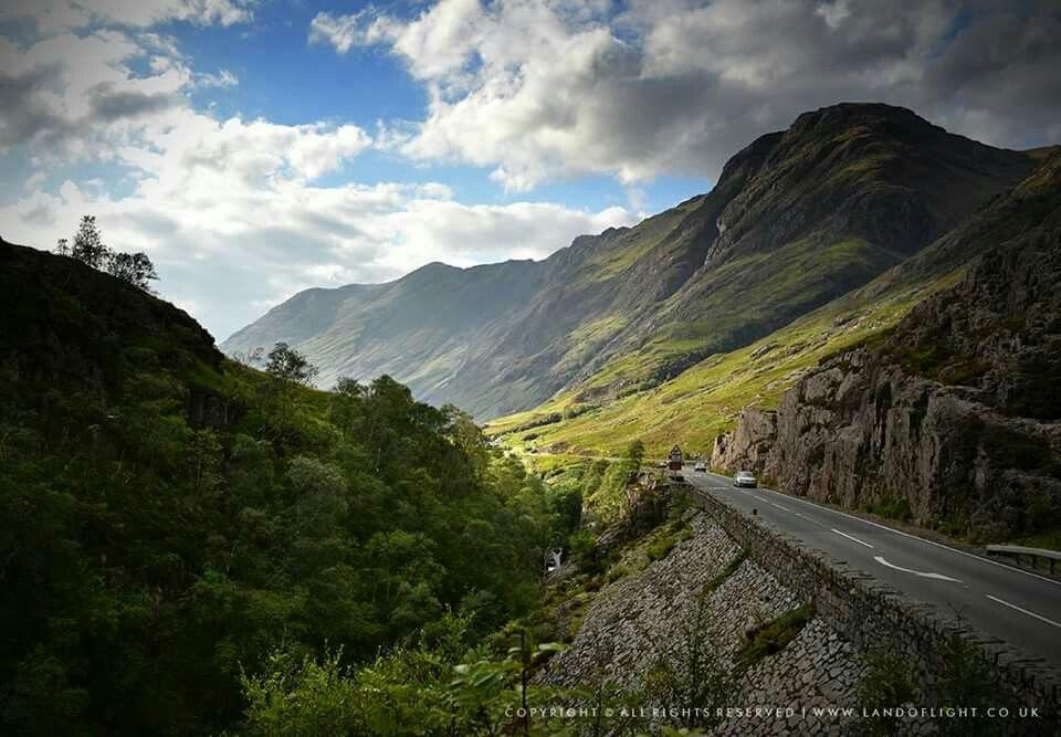 Glen Coe. www.landoflight.co.uk