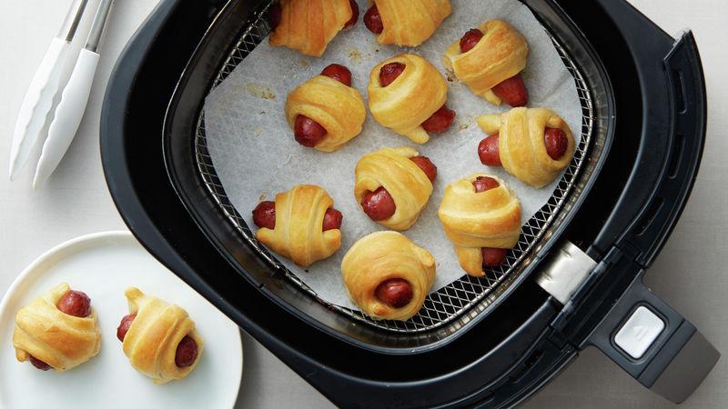 Air Fryer Mini Crescent Dogs Recipe Air fryer recipes