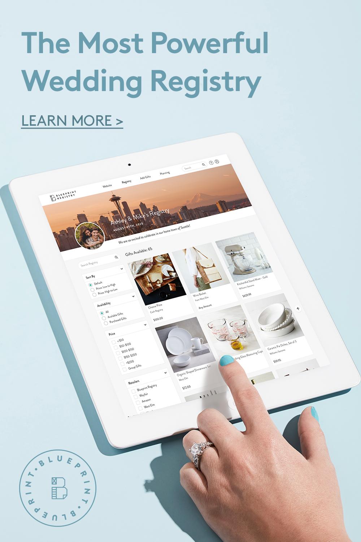 The Most Powerful Wedding Registry Wedding Website Free Blueprint Registry Blueprints