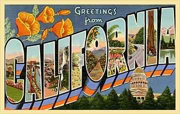 Custom vintage postcards
