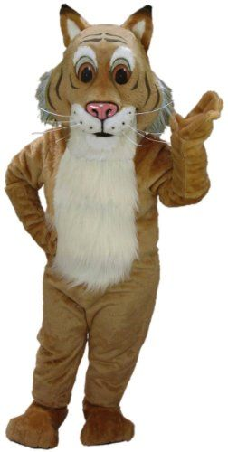 Friendly Bobcat Mascot Costume MaskUS Costumes http://www.amazon.com/dp/B002SF9GF0/ref=cm_sw_r_pi_dp_s6d8vb1NT276Z