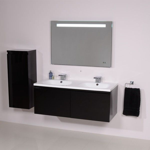 black vanity units for bathroom. Barcelona 1200 Black Vanity Unit  And White Bathroom Ideas Better Bathrooms The 1200mm