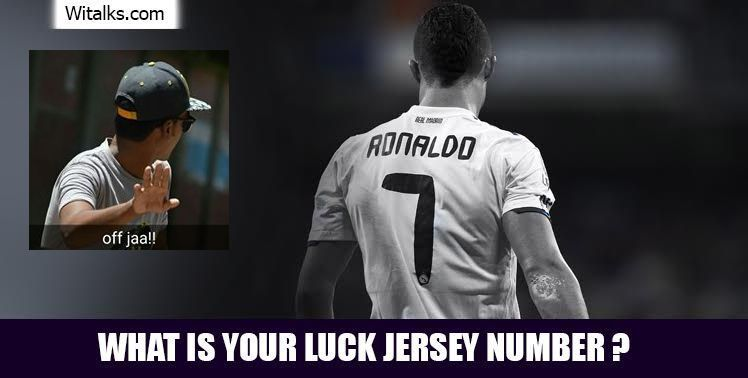 What is your lucky Jersey number?