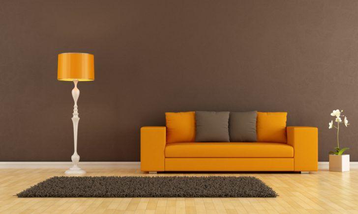 ehrfurchtiges-wohnzimmer-welche-farbe-passt-zu-orange-oranges-sofa ...