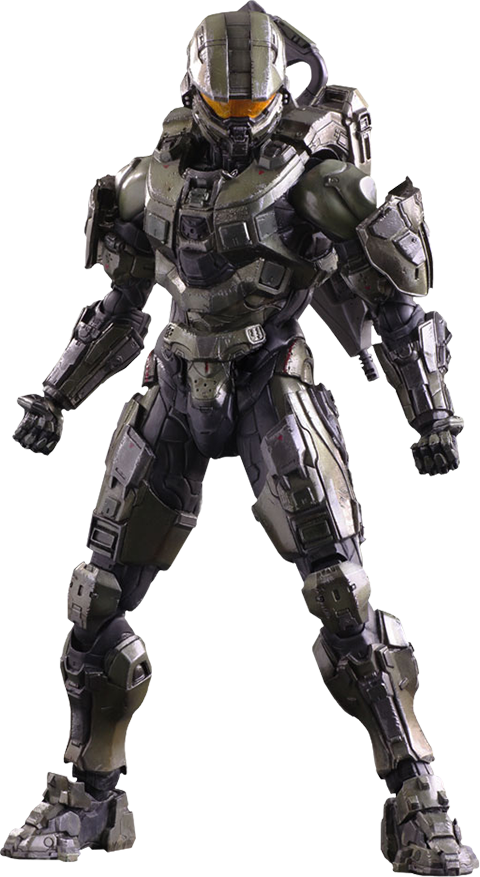 Halo Master Chief Collectible Figure By Square Enix Halo Master Chief Halo Armor Halo Cosplay