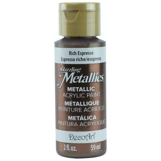 DecoArt Dazzling Metallics Paint, 2 oz.