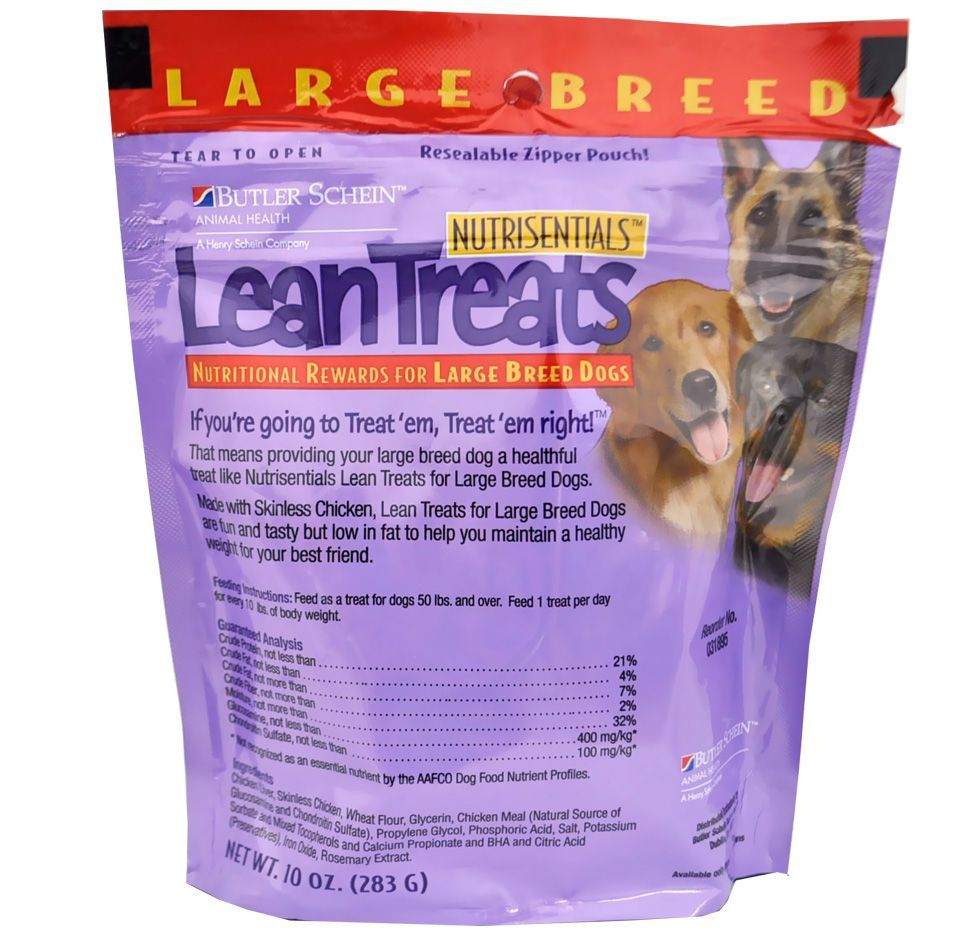 Lean Treats Nutritional Rewards For Large Breed Dogs 6 Pack 3 75 Lbs In 2020 With Images Large Dog Breeds Dog Breeds Breeds