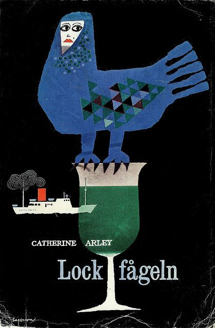 Catherine Arley - Lockfågeln  Original title: La femme de paille  Cover by: Rolf Lagerson  Printed: 1958